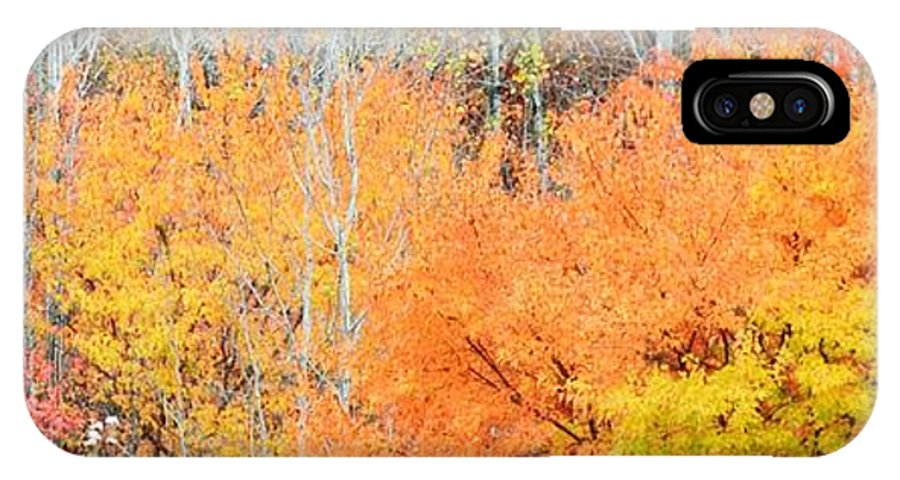 Autumn IPhone X Case featuring the photograph Minnesota Autumn 58 by Kimberly Benedict
