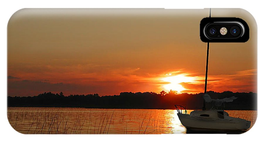Sunset IPhone X Case featuring the photograph Minnesota Sunset II by Rich Stedman