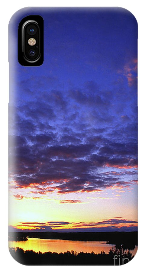 Sunset IPhone X Case featuring the photograph Minnesota Sunset by Thomas R Fletcher