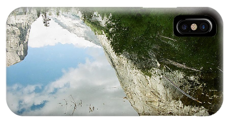 Mirror Lake IPhone Case featuring the photograph Mirrored by Kathy McClure