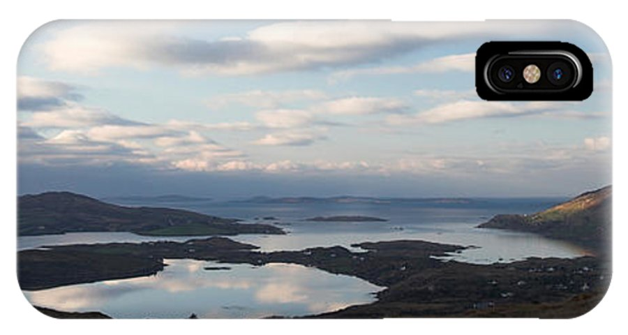 Connemara IPhone X Case featuring the photograph Mirrored Sky In Connemara Ireland by Pierre Leclerc Photography