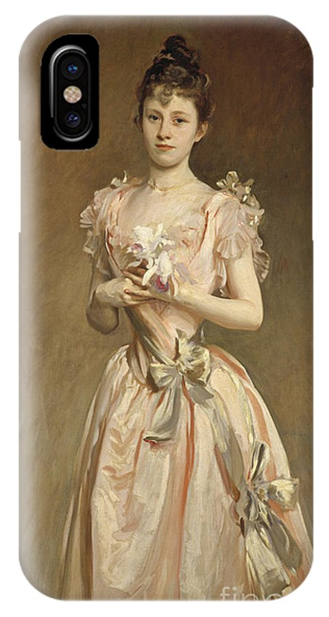 IPhone X Case featuring the painting Miss Grace Woodhouse by John Singer Sargent
