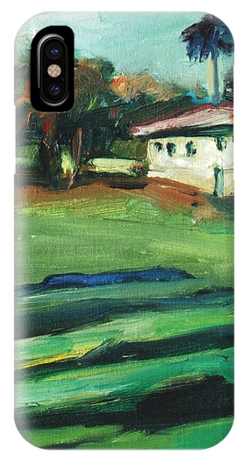 Cityscape IPhone Case featuring the painting Mission Dolores by Rick Nederlof