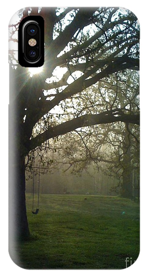 Mist IPhone Case featuring the photograph Misty Morning by Nadine Rippelmeyer
