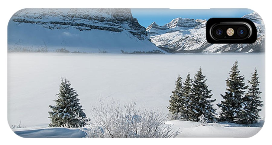 Canada IPhone X Case featuring the photograph Misty Valley by Michael Blanchette