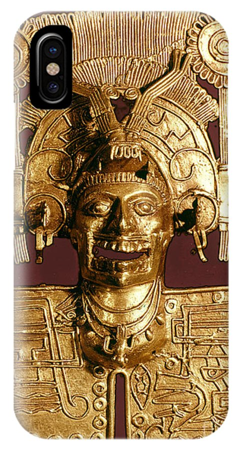 1400 IPhone X Case featuring the photograph Mixtec: God Of The Dead by Granger