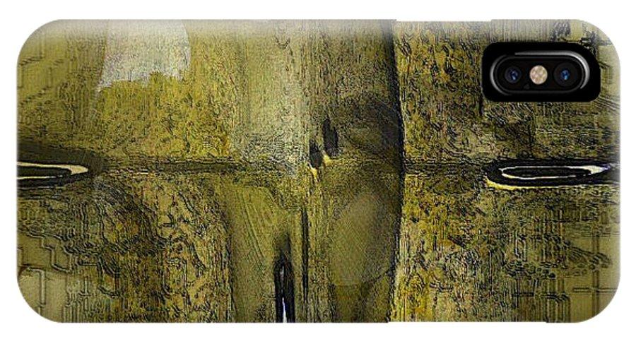 Digital IPhone Case featuring the digital art Modern Art 3 by Ilona Burchard
