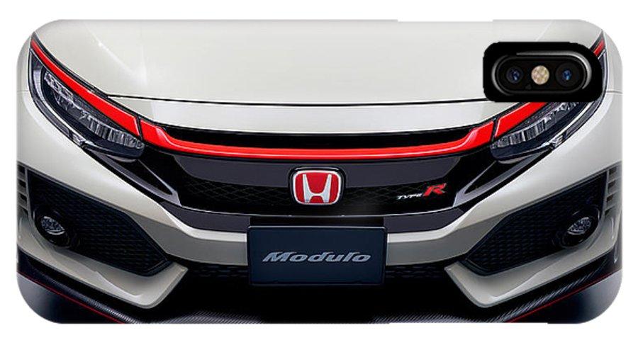 sale retailer 4aaaa ef189 Modulo Honda Civic Type R 2017 IPhone X Case
