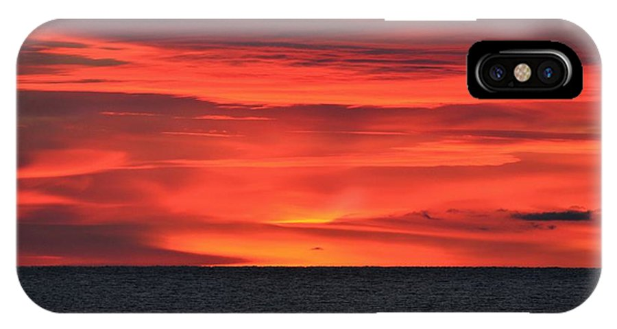 Lake Superior IPhone X Case featuring the photograph Moment Before Sunrise by Hella Buchheim