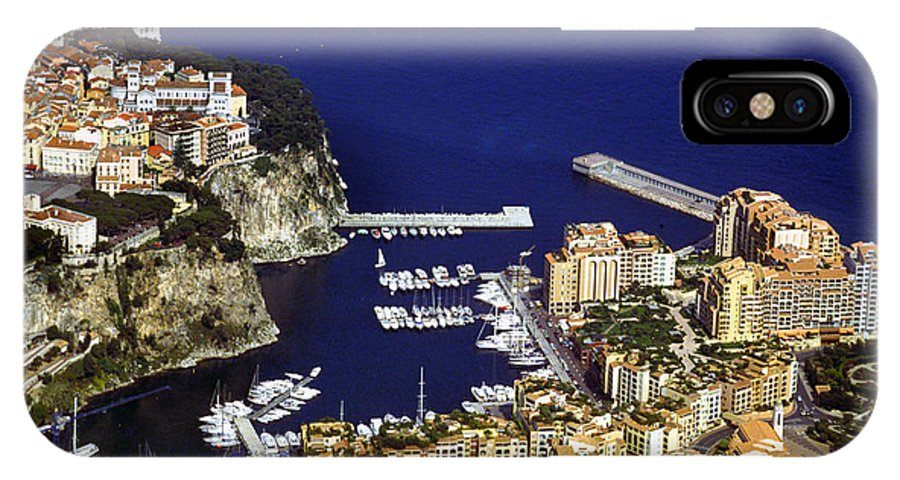 Rich IPhone Case featuring the photograph Monaco On The Mediterranean by Carl Purcell