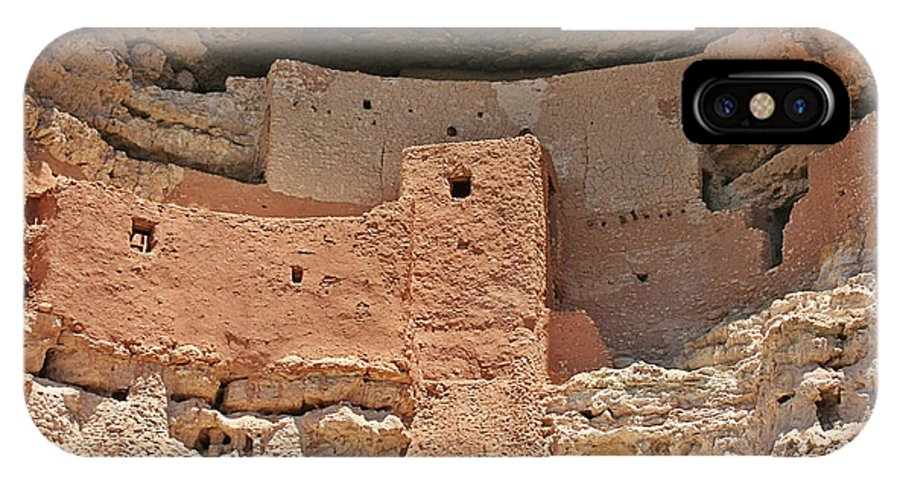Culture IPhone X Case featuring the photograph Montezuma Castle - Special In It's Own Way by Christine Till