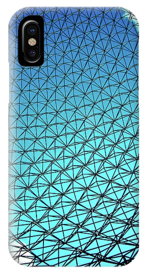North America IPhone X Case featuring the photograph Montreal Biosphere by Juergen Weiss