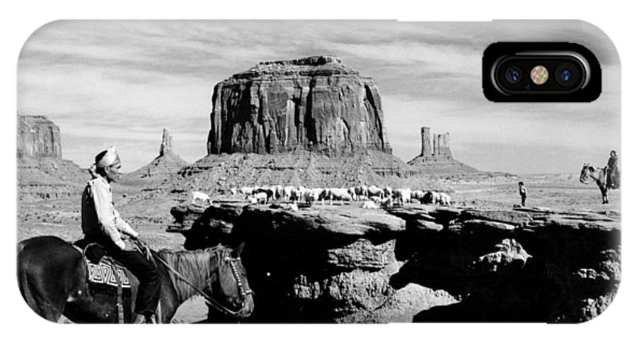 20th Century IPhone X Case featuring the photograph Monument Valley: Butte by Granger