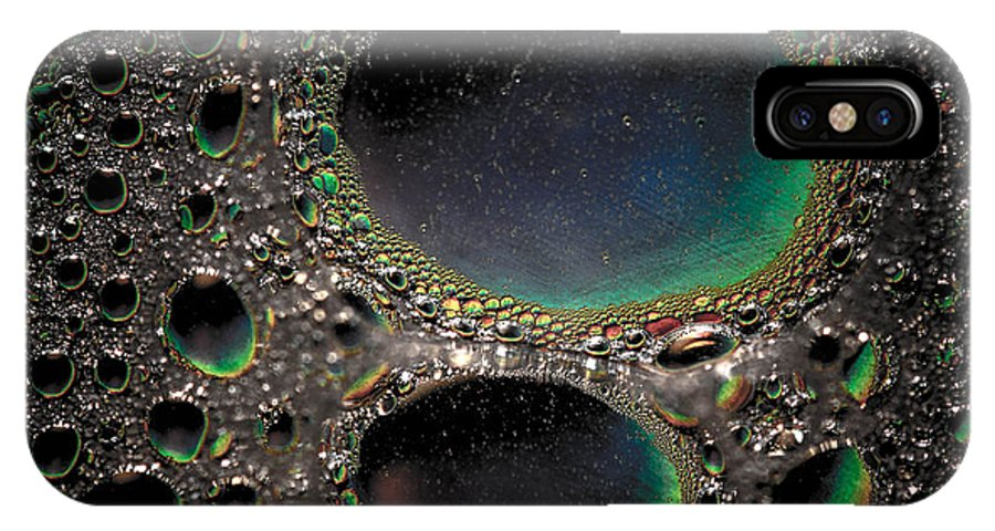 Moon IPhone X Case featuring the photograph Moon Cores by Bruce Pritchett