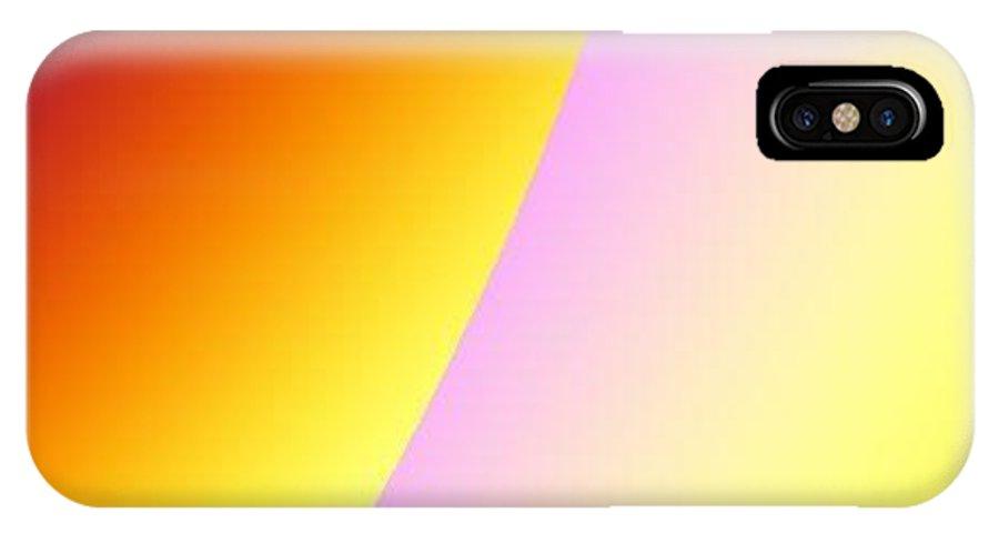 Digital Art IPhone X Case featuring the digital art Moon II by Dragica Micki Fortuna
