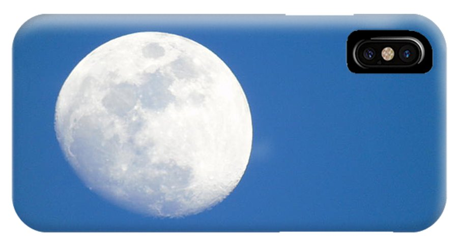 Moon IPhone X Case featuring the photograph Moonlight by Yohana Negusse