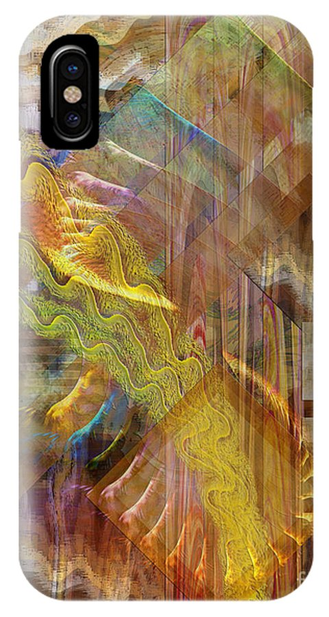 Morning Dance IPhone Case featuring the digital art Morning Dance by John Beck