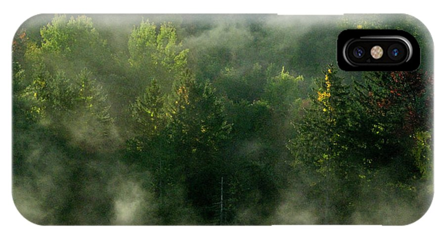 Fall Foliage IPhone Case featuring the photograph Morning Fire by Tom Heeter