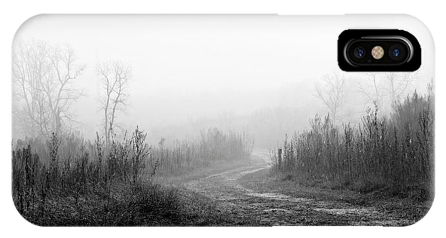 Fog IPhone X / XS Case featuring the photograph Morning Fog by Gary Richards