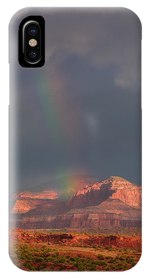 National Park IPhone X Case featuring the photograph Morning Glory by Prajit Ravindran
