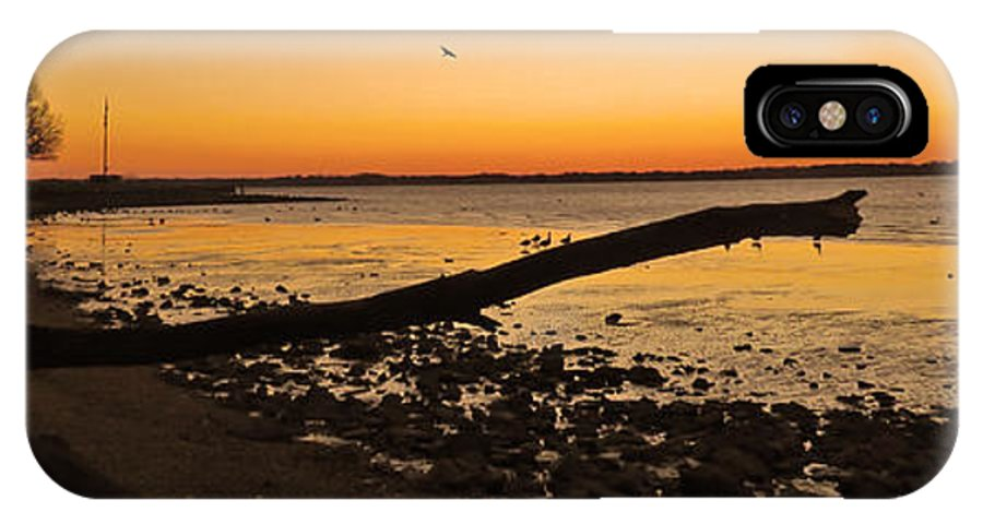 New Castle IPhone X / XS Case featuring the photograph Morning Glow #2 by Bruce Burk