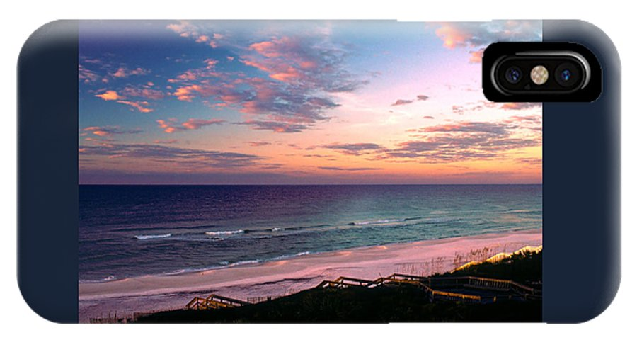 Rosemary Beach IPhone X Case featuring the photograph Morning Light On Rosemary Beach by Marie Hicks