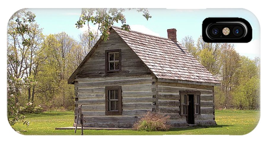 Historic Site IPhone X Case featuring the photograph Mother Barnes House by Valerie Kirkwood