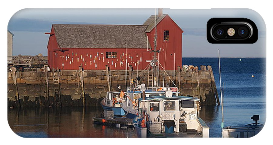 Harbor IPhone X Case featuring the photograph Motif Number One by Paul Galante