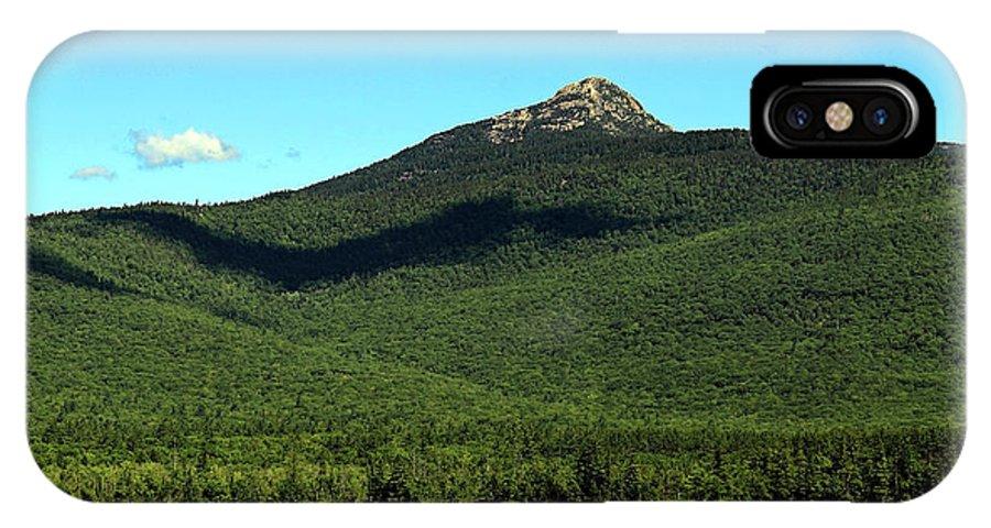 Mount Chocorua IPhone X Case featuring the photograph Mount Chocorua by Jeff Heimlich