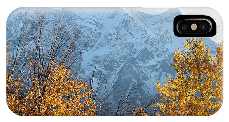 Mount Currie IPhone X Case featuring the photograph Mount Currie Autumn by Pierre Leclerc Photography