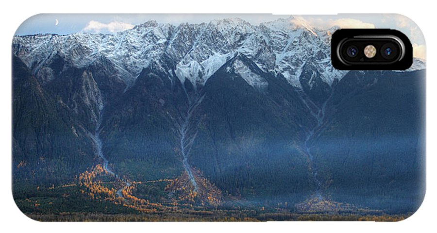 Mount Currie IPhone X Case featuring the photograph Mount Currie Hdr Pemberton B.c Canada by Pierre Leclerc Photography