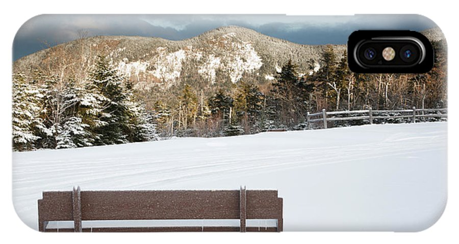 White Mountain National Forest IPhone X Case featuring the photograph Mount Huntington - White Mountains New Hampshire by Erin Paul Donovan