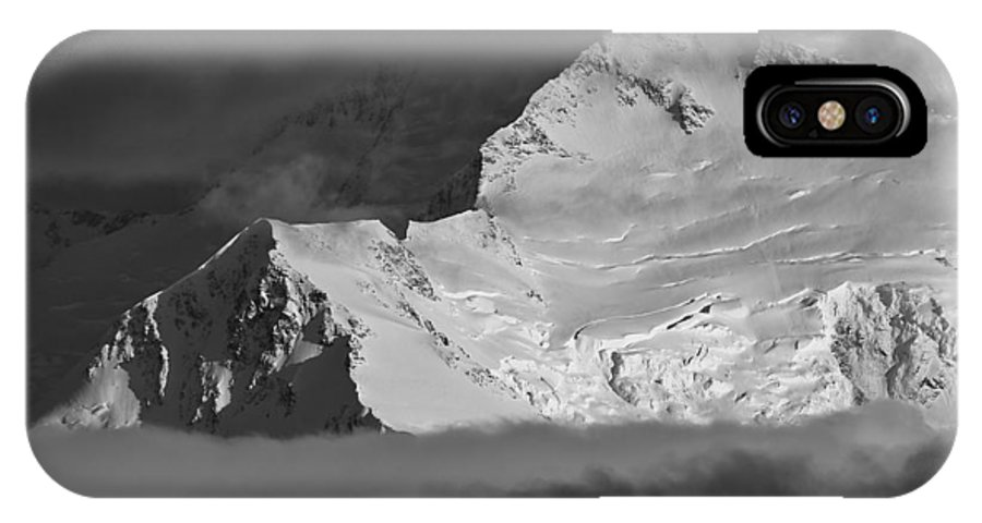 Alaska IPhone X Case featuring the photograph Mount Mckinley by Max Steinwald