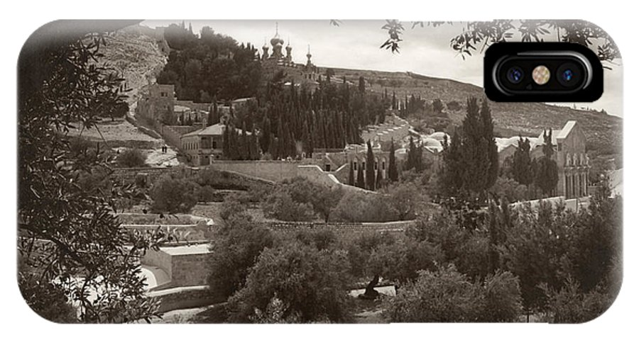 1930 IPhone X Case featuring the photograph Mount Of Olives by Granger