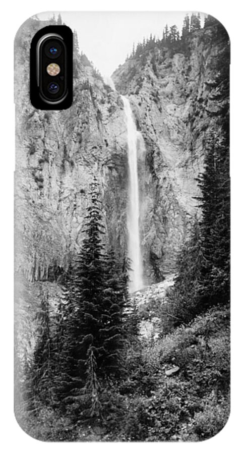 1932 IPhone X Case featuring the photograph Mount Rainier National Park by Granger