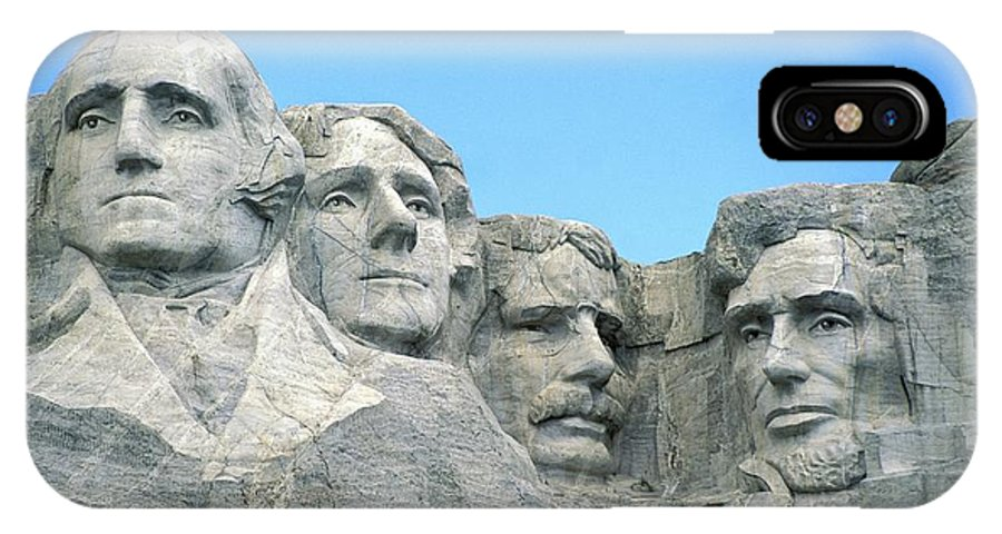 Mount IPhone X Case featuring the photograph Mount Rushmore by American School