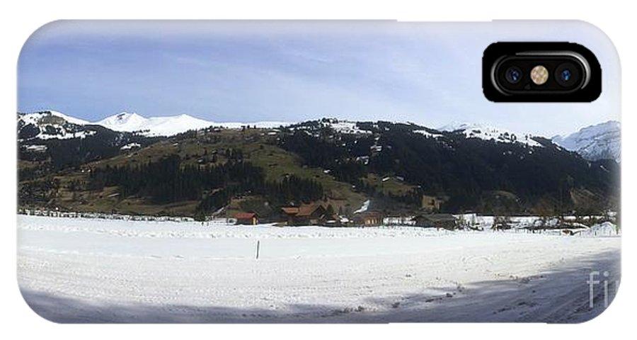 Mountains IPhone X Case featuring the photograph Mountain Snow World Long by Angelika Heidemann