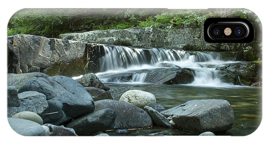 Stream IPhone X Case featuring the photograph Mountain Stream by Idaho Scenic Images Linda Lantzy