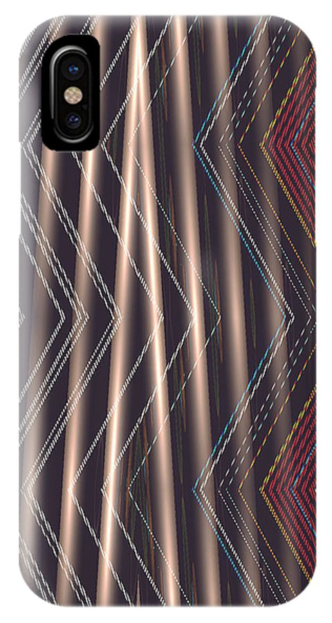 Moveonart! New York / San Francisco Digital Gallery Lower Nob Hill Jacob Kanduch IPhone X Case featuring the digital art Moveonart Light For Deliverance by Jacob Kanduch
