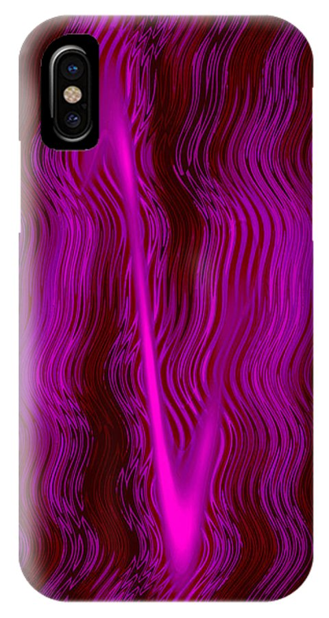 Moveonart Digital Gallery San Francisco California Lower Nob Hill Jacob Kane Kanduch IPhone X Case featuring the digital art Moveonart Mystery Series 2 by Jacob Kanduch