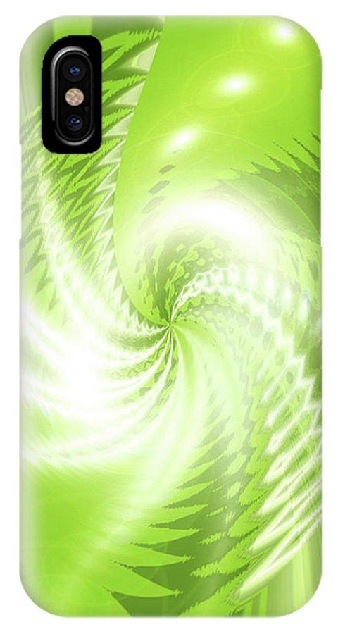 Moveonart! Global Gathering. -- Jacob Kane -- Omnetra IPhone X Case featuring the digital art Moveonart Renewable Resourcing by Jacob Kanduch