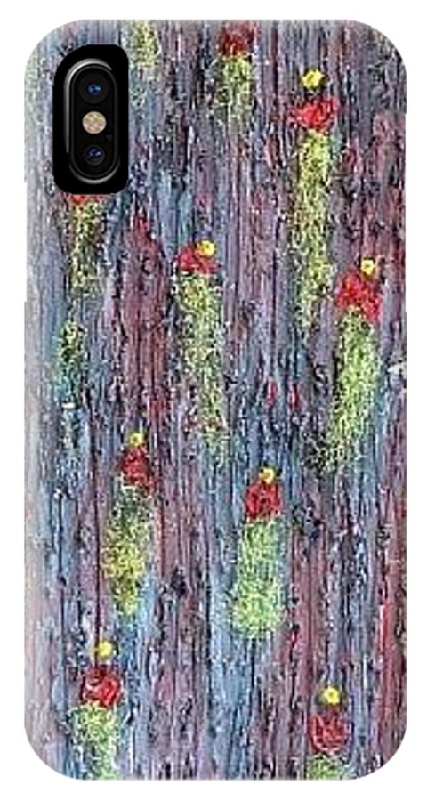 Moveonart! Digital Gallery IPhone X Case featuring the painting Moveonart Rinats Painting by Jacob Kanduch