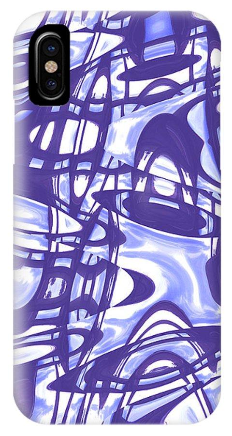 Moveonart Digital Gallery San Francisco California Lower Nob Hill Jacob Kane Kanduch IPhone X Case featuring the digital art Moveonart San Francisco Window 5 by Jacob Kanduch