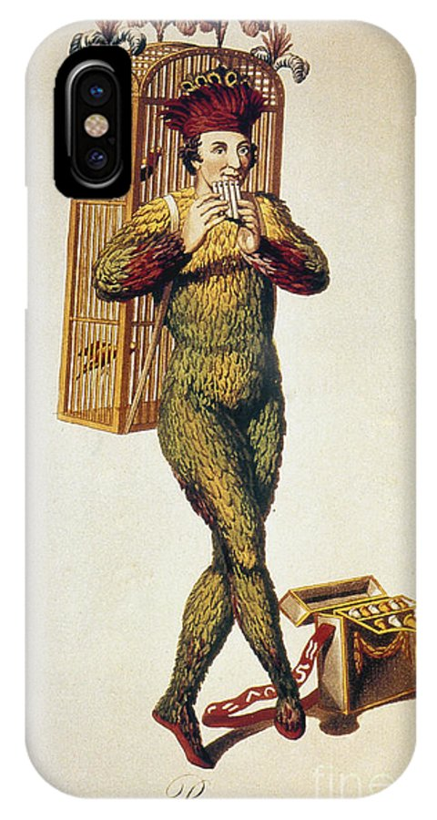 1791 IPhone X Case featuring the photograph Mozart: Magic Flute, 1791 by Granger