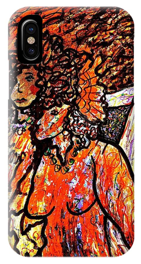 Figurative Art IPhone Case featuring the painting Musical Recital by Natalie Holland