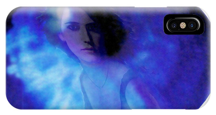Abstract IPhone X Case featuring the photograph My Eye's Delight by Seth Weaver