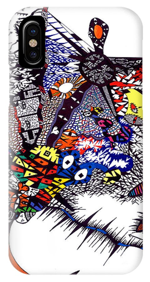 Feelings IPhone Case featuring the painting My Feelings by Safak Tulga