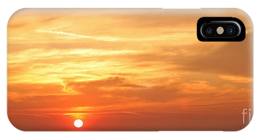 Sunset IPhone X Case featuring the photograph Mykonos Sunset by Madeline Ellis