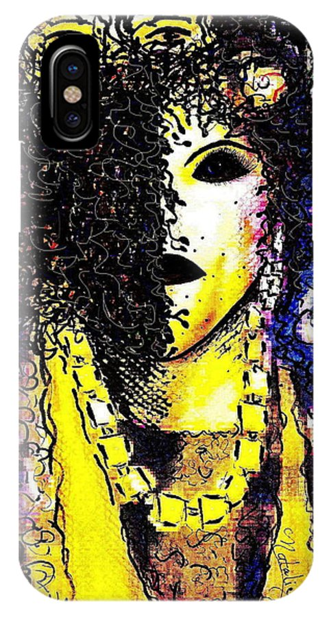 Woman IPhone Case featuring the painting Mysterious Encounter by Natalie Holland