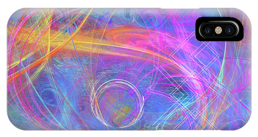 Mystic Beginning IPhone Case featuring the digital art Mystic Beginning by John Beck